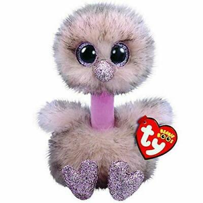 "Avery Ostrich Ty Beanie Boos Plush stuffed animal figure 13/"" Medium new wit tags"