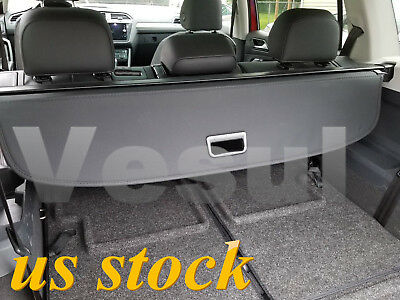For Volkswagen VW Atlas 2018-2020 Rear Trunk Updated Cargo Cover Security Shade