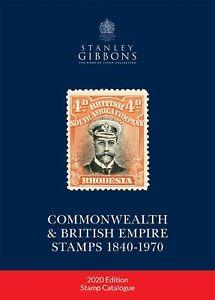 GB-2020-Stanley-Gibbons-Commonwealth-amp-British-Empire-Francobolli-Catalogo