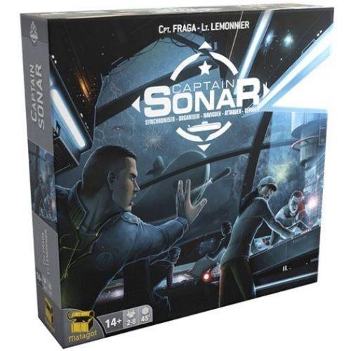Captain Sonar Asmodee Brand New Board Game BNIB Sealed