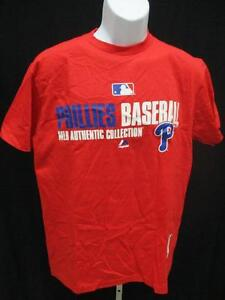 68d56d1163c New Philadelphia Phillies Mens Adult Size S M XL 2XL 3XL Majestic ...