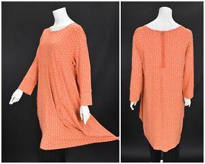 Womens-The-Masai-Clothing-Company-Tunic-Dress-Orange-Floral-Viscose-XXL-2XL