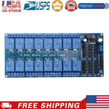 New 16 Channel 5v12v Relay Module Board For Arduino Pic Avr Mcu Dsp Arm Plc