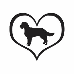 American-Water-Spaniel-Heart-Vinyl-Decal-Multiple-Color-amp-Sizes-ebn1417
