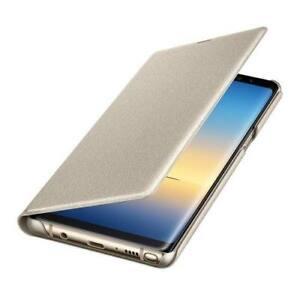 Original-Samsung-Galaxy-Note-8-LED-View-Flip-Cover-Case-EF-NN950-Huelle-gold