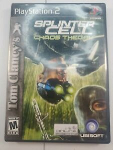 Tom Clancy's Splinter Cell: Chaos Theory (PlayStation 2 PS2) Complete Tested