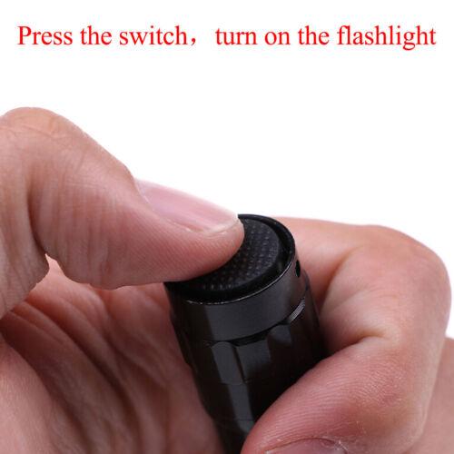 Waterproof Mini Portable Led Flashlight Pocket Aluminum Torch Lamp Light/&FFRDUK