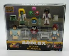 SEALED ROBLOX Celebrity Action Figures Accessories MEEPCITY MEEP HOSPITAL 5 PACK