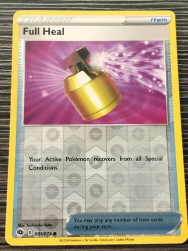 SWSH CHAMPION/'S PATH FULL HEAL 051//073 COMMON REVERSE Pokemon