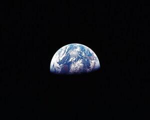 2019 Fashion Apollo 11 Earth Rise Over Moon Horizon 11x14 Silver Halide Photo Print Apollo