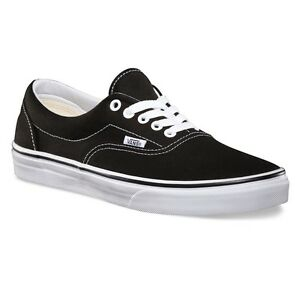 Vans Era Core Classic Black White Fashion Mens   Womens Shoes All ... fc99e9ed2