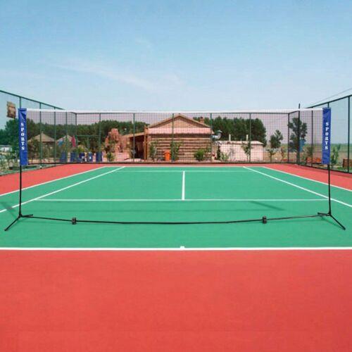 13.8'x5' Portable Beach Tennis Badminton Volleyball Workout Net w/ Carrying Bag