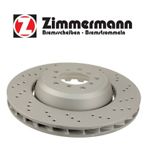 BMW M3 E82 E90 E92 E93 Front Passenger Right Disc Brake Vented Rotor Zimmermann