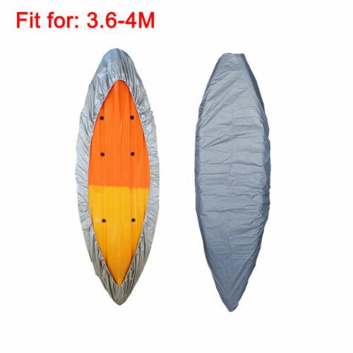 Kajak abdeckung Cover Kanu Boot Wasserdicht UV-beständig Staubschutz Grau DE