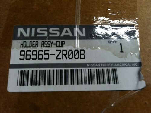 NEW OEM NISSAN 2008-2014 TITAN//ARMADA REAR CHARCOAL CUPHOLDER ASSEMBLY SEE LIST
