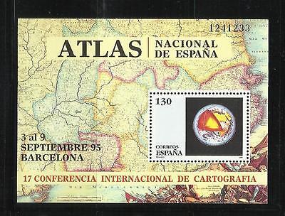 ESPAÑA. Año: 1995. Tema: 17ª CONFERENCIA INTERNACIONAL DE CARTOGRAFIA.