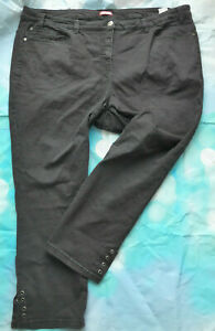 Joe-Browns-Stretch-Jeans-Trousers-Size-56-Black-634-New
