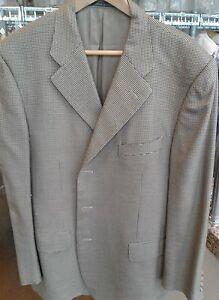 Neiman Marcus Men's Jacket Coat Outwear Brown Color Sport Jacket Made in Italy