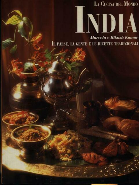 INDIA  KUMAR MARCELA E BIKASH VALLARDI 1995 LA CUCINA DEL MONDO