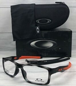 d1fc4ae381cd8 Oakley Crosslink MNP A OX8141-0356 Grey Tortoise   Demo Lenses ...