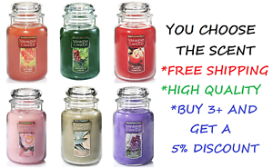 YANKEE-CANDLE-YOU-PICK-THE-SCENT-22-OZ-LARGE-JAR-FREE-FAST-PRIORITY-SHIPPING
