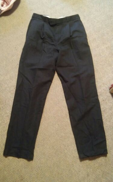 100% Vero 000 Uomo Slates Basics Sportivi Pantaloni Eleganti 34x33 Costruzione Robusta