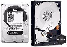 Western Digital 6TB BLACK Performance Hard Drive WD 128mb cache WD6001FZWX 6 TB