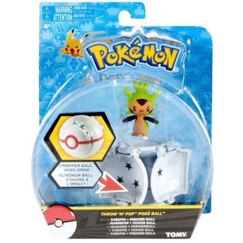 Chespin Pikachu Pokemon Throw /'N/' Pop Poke Ball- choose from Fennekin Froakie