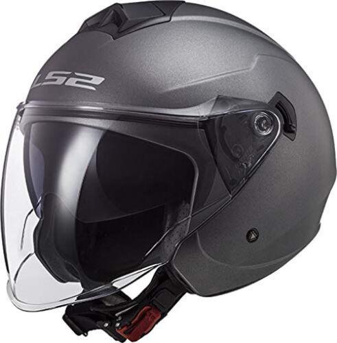 Casco LS2 Helmet Twister II OF573 Matt Titanium