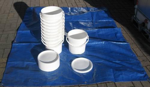 NUOVO 10 Litri Food Grade esche pesca Storage serie di periodi fissi
