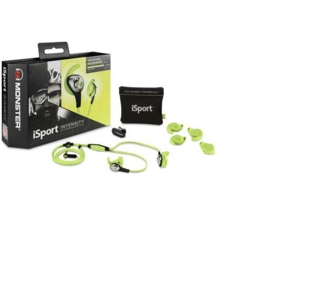 Monster iSport Intensity Earphones - Green