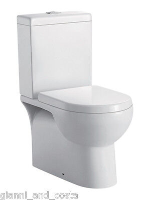 TOILET SUITE CERAMIC BACK TO WALL SOFT CLOSE PP SEAT - P OR S TRAP - MODEL RAH