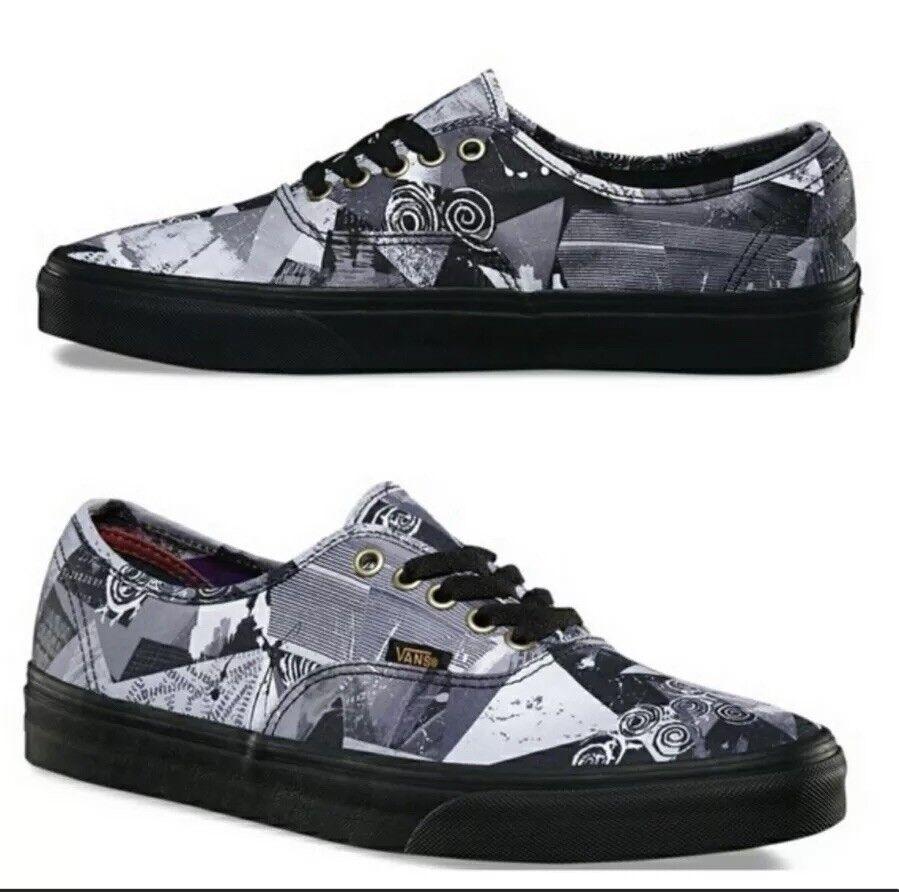 Vans Abstracto Auténticas Abstracto Vans Zapatos para mujer Talla 8 Nuevos 44109d