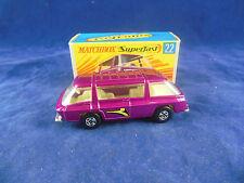Matchbox Superfast MB-22b Freeman Inter-City Commuter Metallic Purple