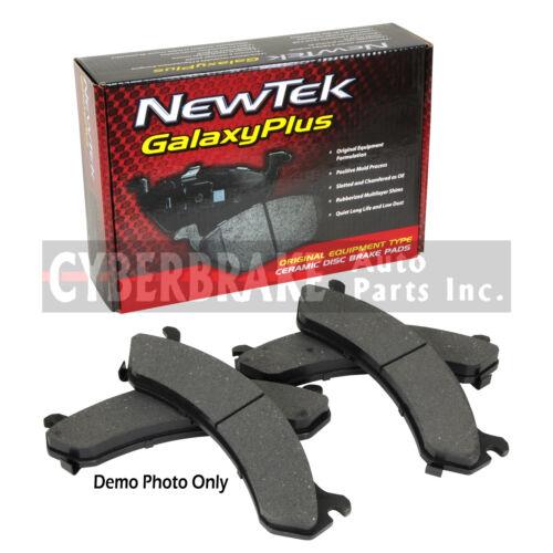 PCD378 REAR Premium Ceramic Brake Pads Fits 88 Pontiac Fiero