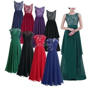 Women-Long-Formal-Wedding-Bridesmaid-Ball-Gown-Party-Prom-Evening-Cocktail-Dress