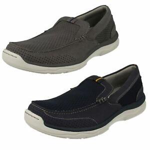Détails sur Clarks pour Hommes à Enfiler Décontracté Cloudstepper Léger Chaussures Sport