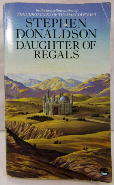 Daughter of Regals by Stephen Donaldson Paperback Book Novel