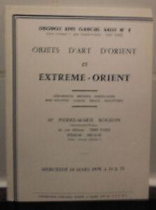 Catalogue-de-vente-1979-Drouot-rive-gauche-Salle-N-2-objets-d-039-Art-D-039-Orient
