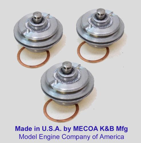 COX ENGINE .049 .051 Tee Dee Killer Bee Venom GLOW PLUGS /& GASKETS 049 QTY of 3