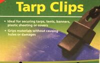 Tarp Clips-ideal For Securing Tarps, Tents, Banners-grips Without Making Holes