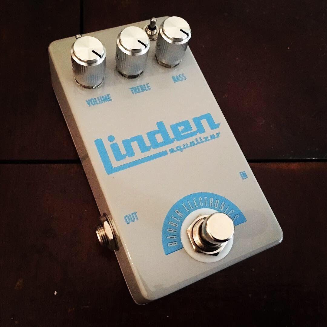 BARBER ELECTRONICS Linden Bass EQ Pedal. Authorised Aussie Dealer