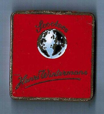S8X - Scatola di latta  SCOOTERS HENRI WINTERMANS  - Vintage