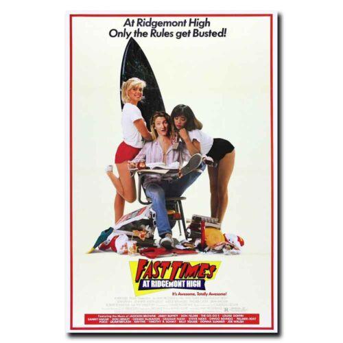Fast Times at Ridgemont High 12x18 24x36inch 87s Movie Silk Poster Art Print