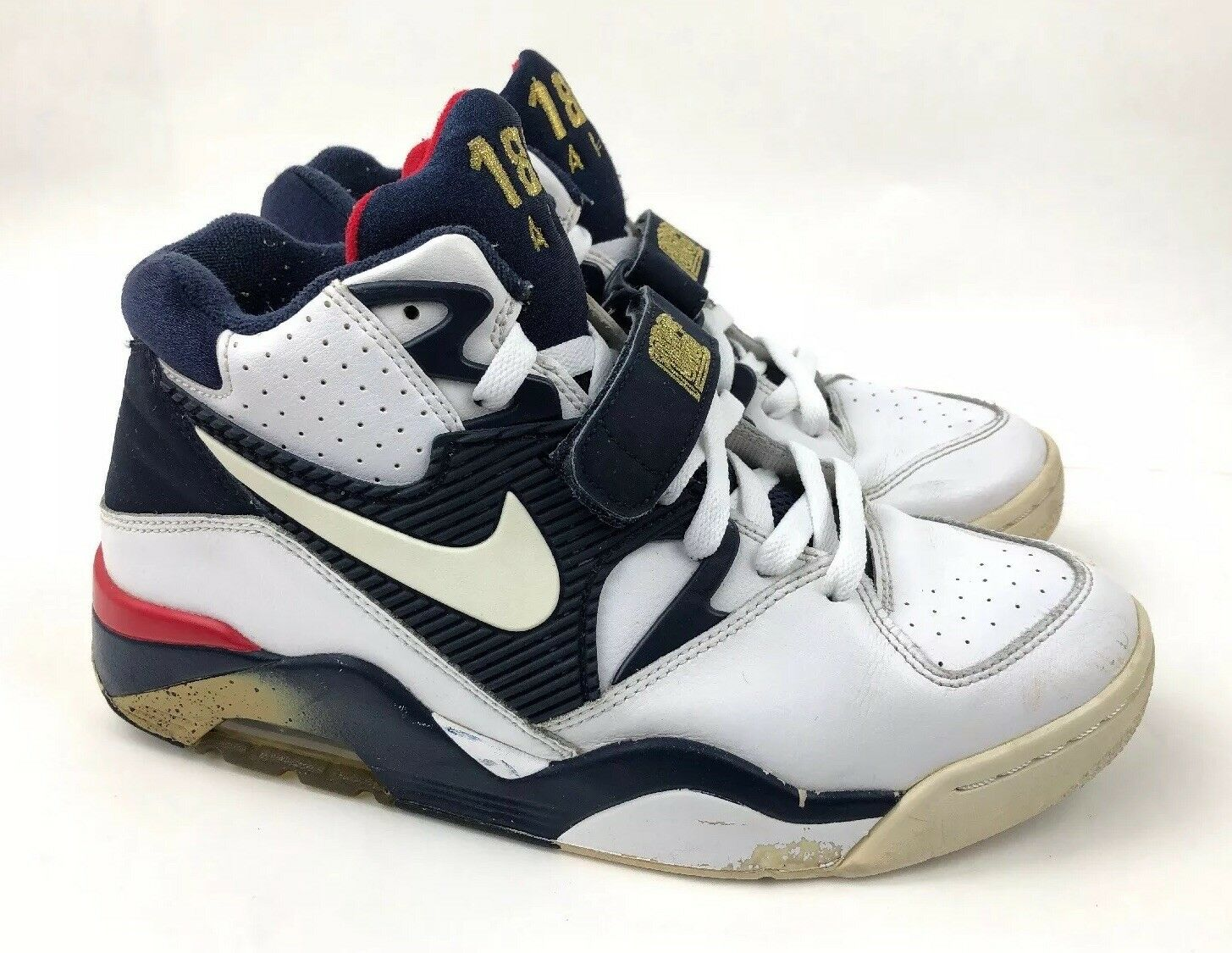 ce88399d89 NIKE AIR FORCE 180 Olympic Team Charles Barkley 310095-100 Men's US Size 8.5