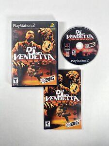 Ps2 Def Jam Vendetta (Sony PlayStation 2, 2003) Complete CIB Tested Black Label