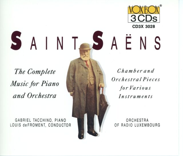 de Froment - Camille Saint-Saëns: Chamber & Orchestral Pieces For Va...