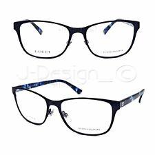 cbc67ab515e GUCCI GG 4268 HPO Matte Black 53 16 140 Eyeglasses Rx Made Italy -