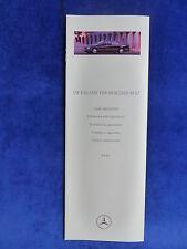 Mercedes-Benz E-Klasse W124 - Lacke & Polster - Prospekt Brochure 03.1995