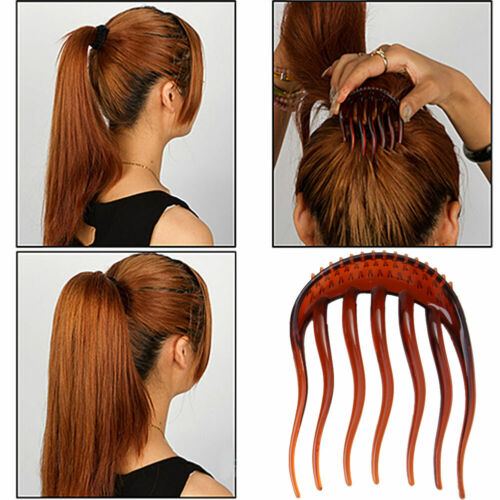 Bump Volume Inserts Hair Clip for Ponytail Bouffant Styles Hair Comb